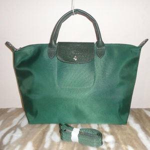 Longchamp Le Pliage NEO Moss Green NEW Large d74d6344373de